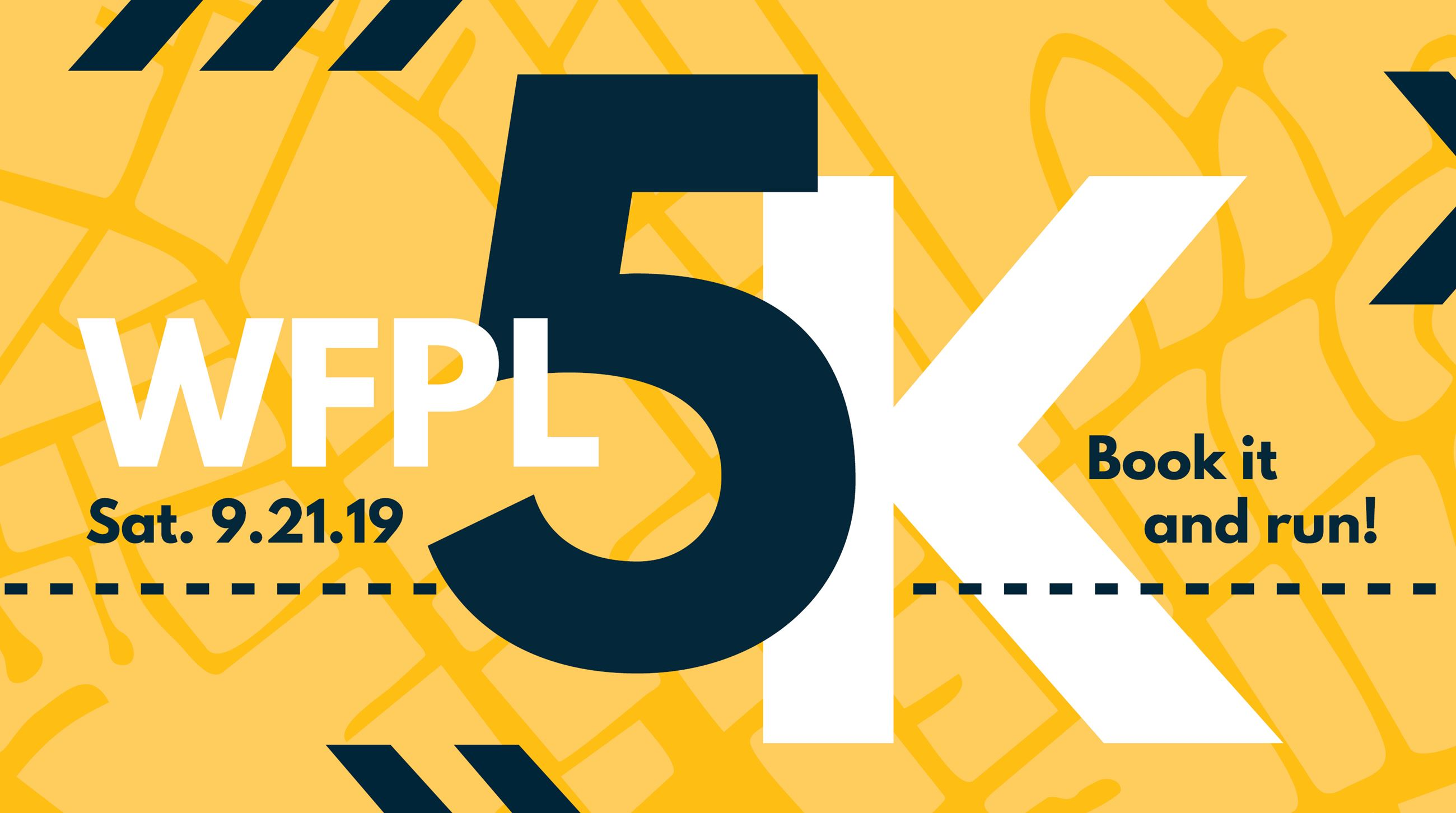 WFPL will hold the 6th Annual Book It and Run 5K on Saturday, September 21, 2019.