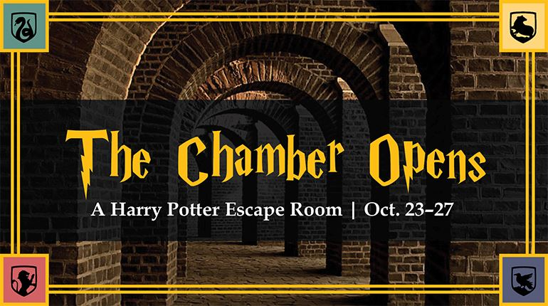 WFPL's Harry Potter escape room runs October 23 - 27, 2019.