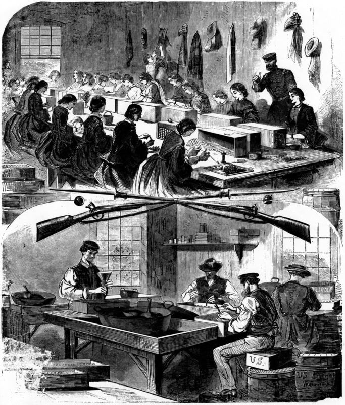 Workers at the Arsenal