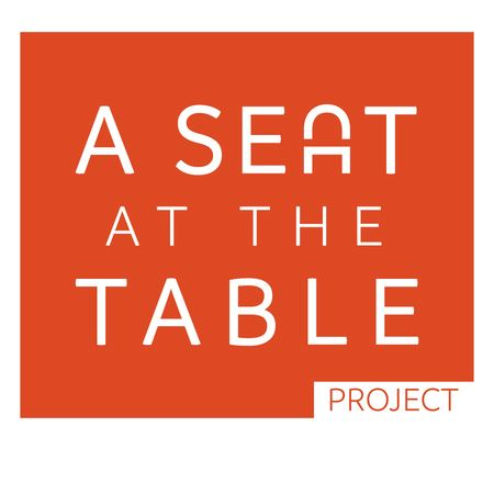 A Seat at the Table exhibit logo
